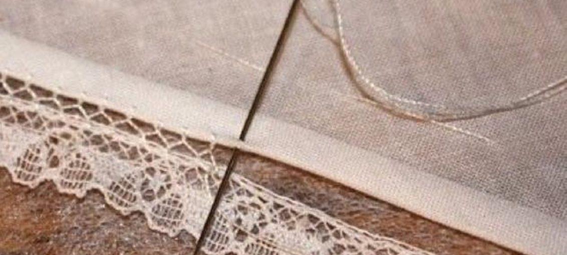 23163b4f6cc διακοσμητικη βελονια για δαντελα, πως ραβουμε δαντελα σε υφασμα