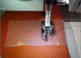 επαγγελματικη κουμποτρυπα, τεχνικη για ραψιμο επαγγελματικης κουμποτρυπας