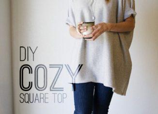 μεινετε ζεστες και ανετες, ραψτε την μπλουζα σας για το κρυο μονες σας