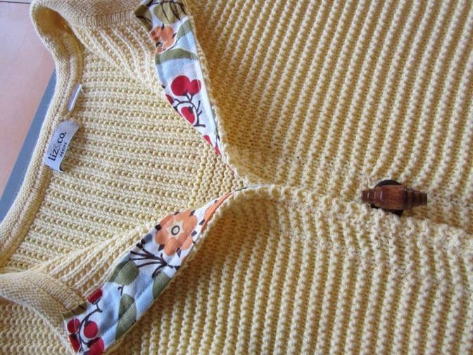 πουλοβερ σε ζακετα μεταποιηση, αλλάζουμε ένα πουλόβερ σε ζακετα