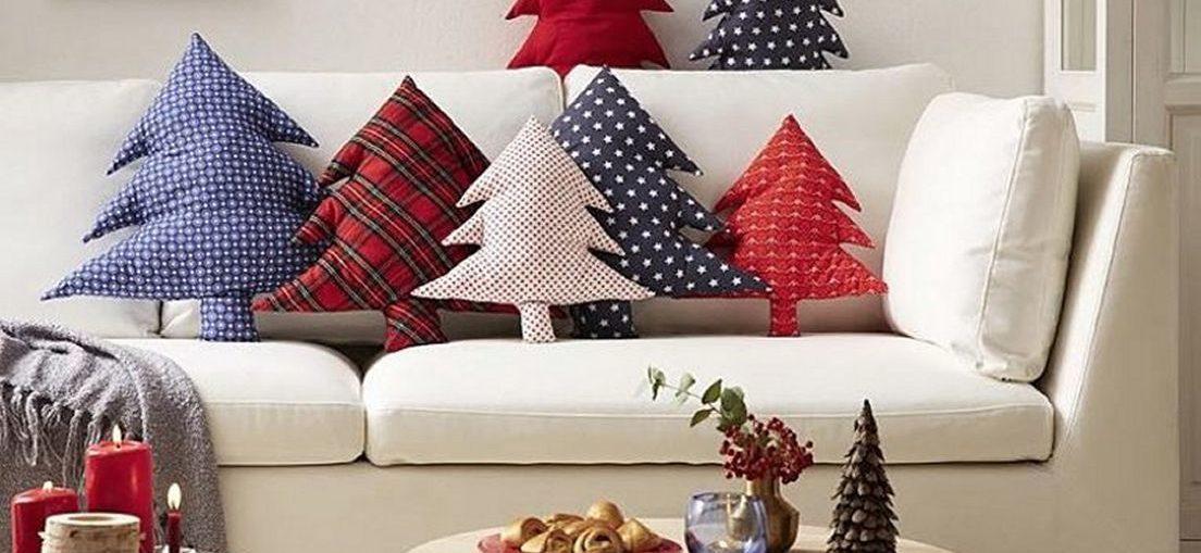μαξιλαρι χριστουγεννιατικο δεντρο, ραψτε εορταστικα μαξιλαρια