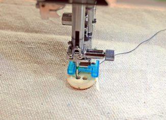πως ραβουμε κουμπια στη ραπτομηχανη ,ρυθμισεις και τεχνική