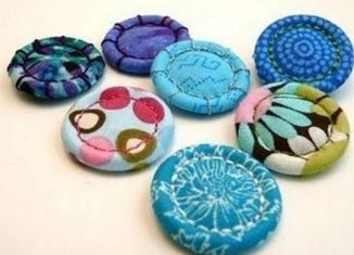 πως φτιαχνουμε υφασματινα κουμπια, φτιαξτε μονοι σας κουμπια στο σπιτι