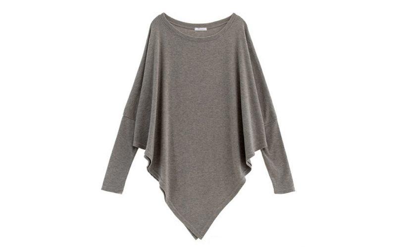 μια μοντερνα και ευκολη μπλουζα, ασυμμετρη μπλουζα για αρχαριες