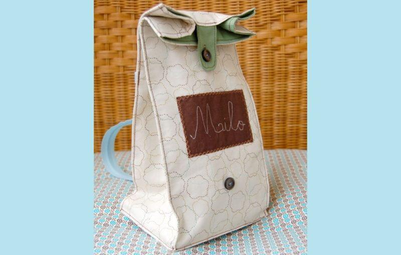 τσαντακι φαγητου lunch sack 2 ομορφο, μικρό τσαντάκι , αναλυτικες οδηγίες