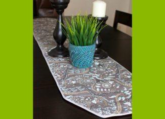 table ranner hot pad , ραψτε μονες σας το προστατευτικο ραννερ
