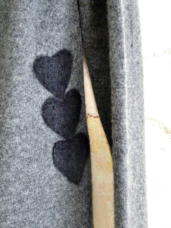 επιδιορθωση σε ενα μαλλινο πουλοβερ