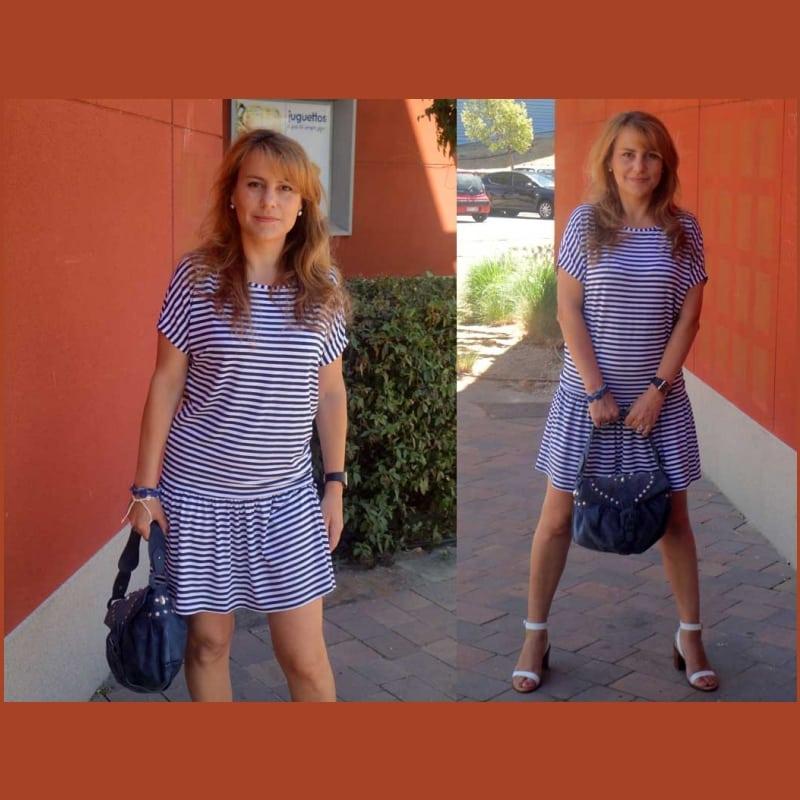 ναυτικο φορεμα, πως να ραψετε ναυτικο φορεμα