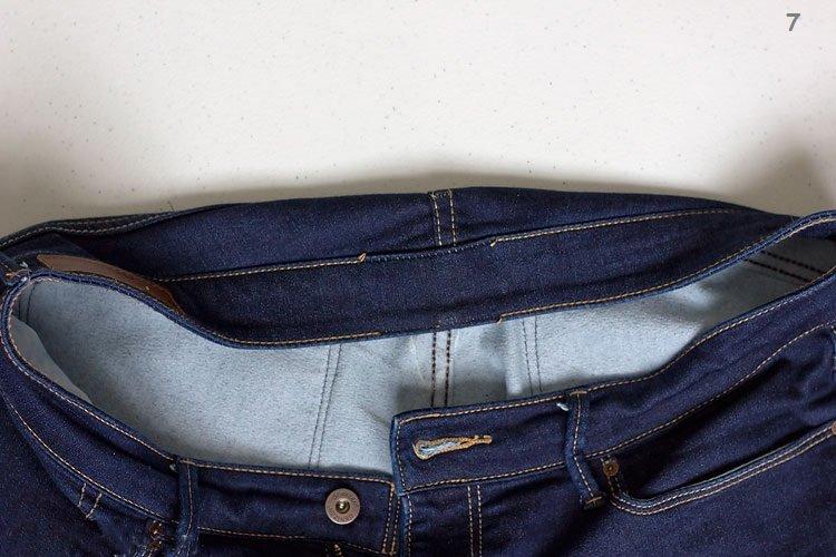 Στενεύουμε την μέση σε παντελόνι τζην