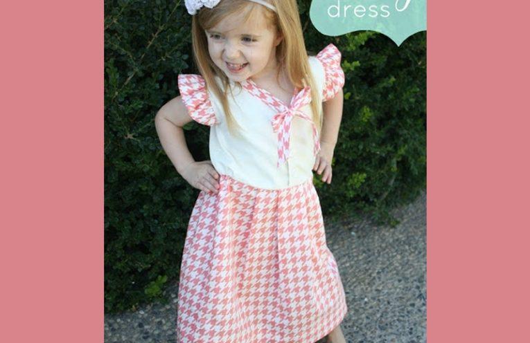 ανοιξιατικο φορεμα για κοριτσακια και πως θα το ραψετε