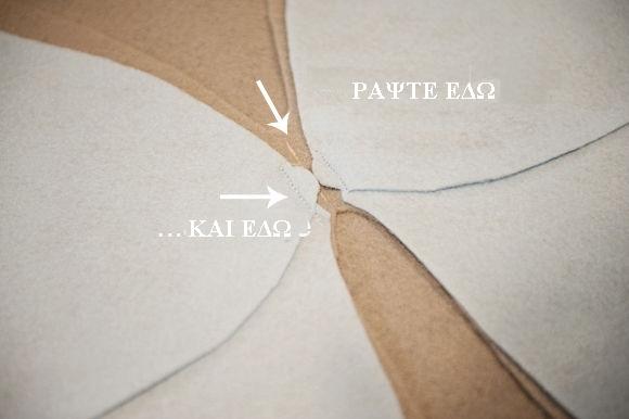 καλυμμα μαξιλαριου πεταλουδα, ράβουμε μαξιλαρι σε σχημα πεταλουδας