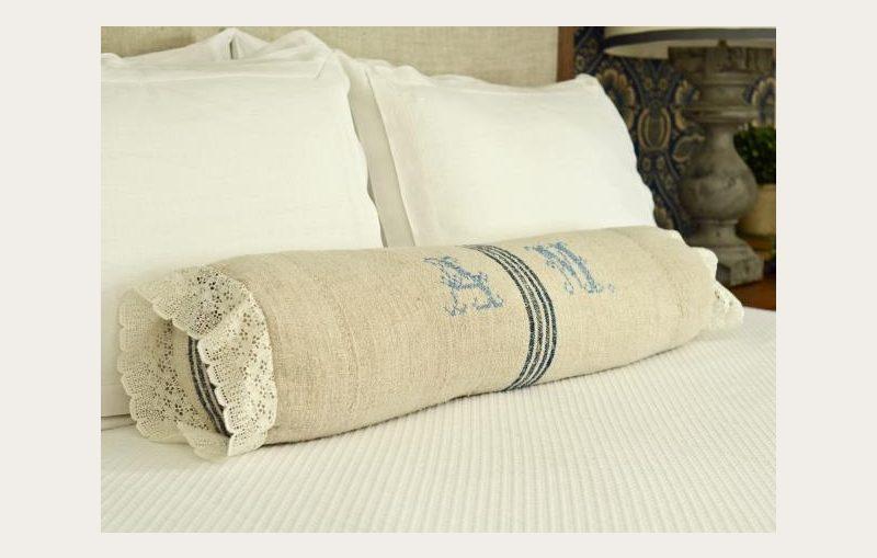 μαξιλαρι κρεβατιου, πως ραβουμε μαξιλαρι κρεβατιου κυλινδρο