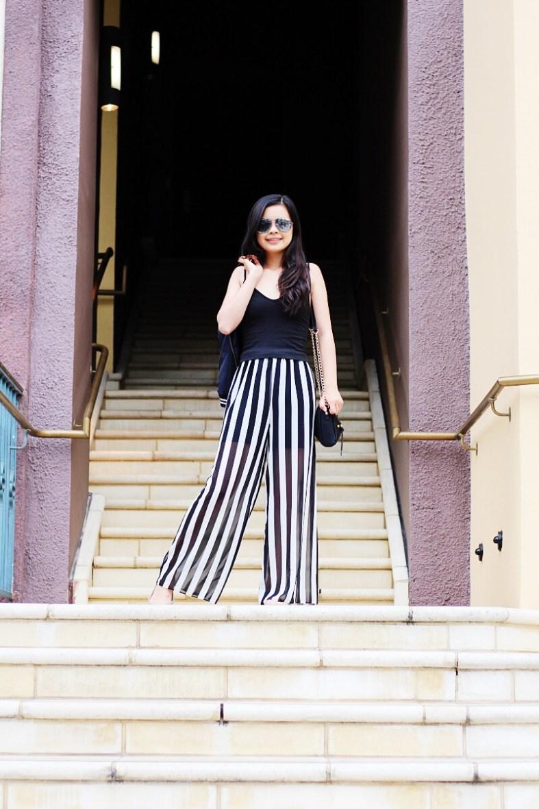 παντελονα palazzo η palazzo pants, πως ραβουμε παντελονα palazzo