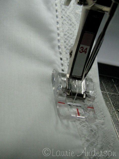 de77c042183 πως γαζωνουμε δαντελα σε υφασμα, η τεχνικη ραψιματος της δαντελας