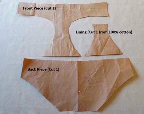 πως να ραψετε εσωρουχα, οδηγίες για να ραψετε εσωρουχα