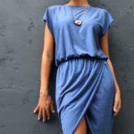 φορεμα-τουλιπα,οδηγιες ραπτικης για φορεμα τουλιπα