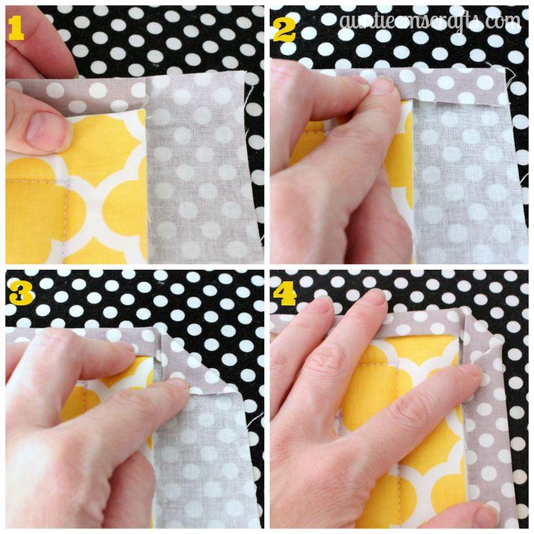 hot pad για πυρεξ, ευκολες αναλυτικες οδηγίες,tutorial