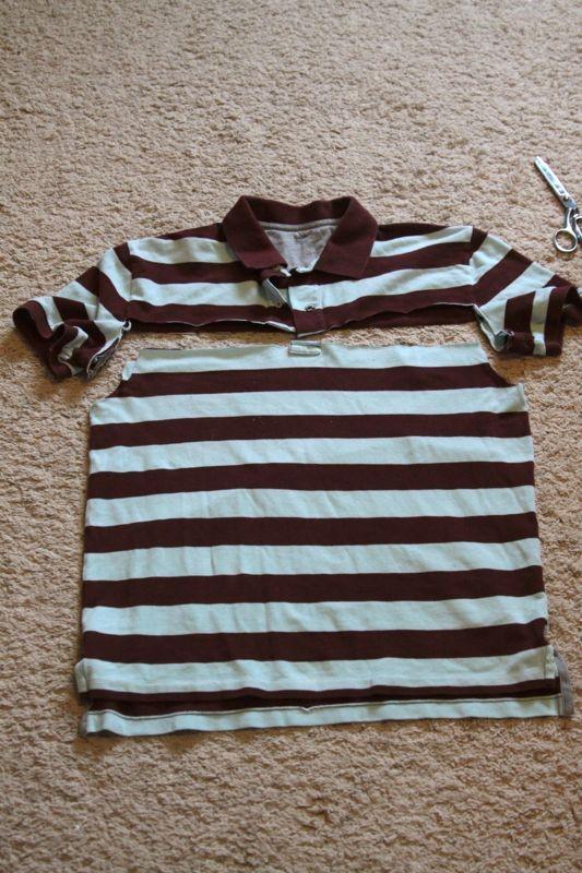 μεταποιηση μπλουζας σε στενη φουστα, μακο μπλουζακια μεταποιησεις