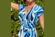 φορεμα κρουαζε με πατρον, για ολα τα μεγεθη και αναλυτικες οδηγιες