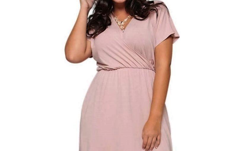 706af4649d7 φορεμα με V λαιμο για μεγαλα μεγεθη, ραβω μονη μου φορεμα