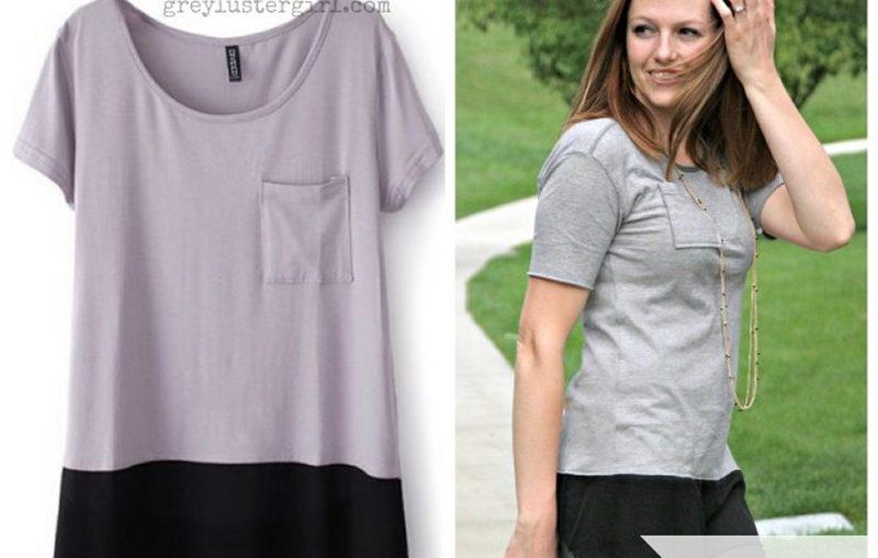 μεταποιηση κοντης μπλουζας με σιφον, με πολυ απλο τροπο