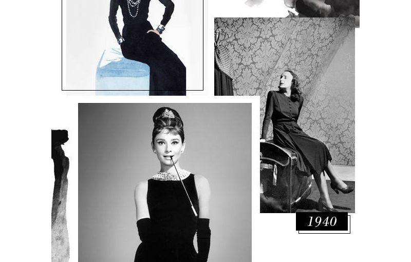 το μικρο μαυρο φορεμα της coco chanel, με πατρον σε τρια μεγεθη