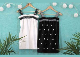 πετσετε φορεμα θαλασσης, ραψτε μονες σας ενα φορεμα για την θαλασσα