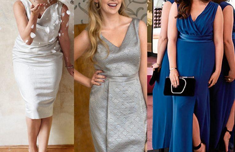τρια φορεματα για μεγαλα μεγεθη, πατρον για επισημα φορεματα