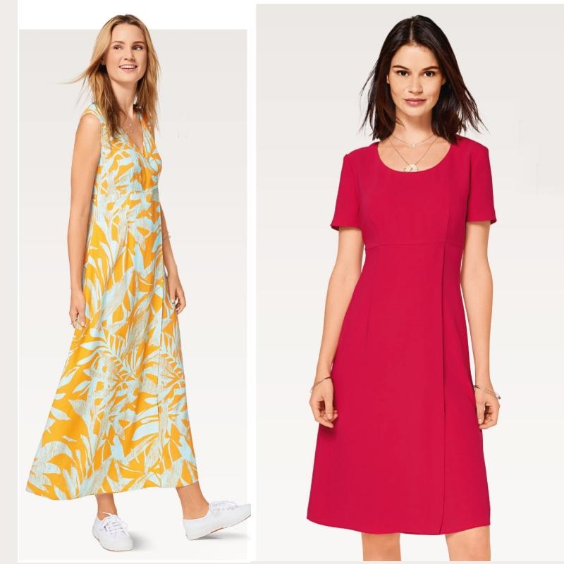φορεματα burda style 6946, τα καλοκαιρινα φορεματα Burda