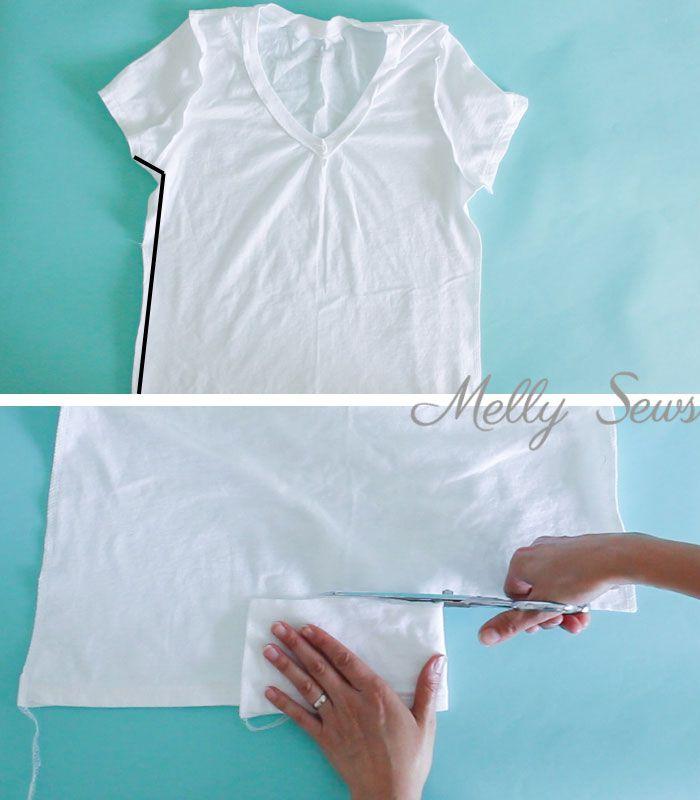 Πως να μικρυνετε ενα t-shirt, μεταποιηση μπλουζας