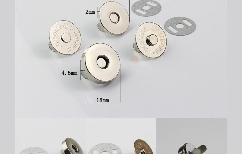 μαγνητικα κουμπια , πως τοποθετουνται σε διαφορα εργα,