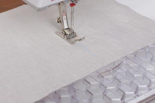 λευκα ειδη με αζουρ βελονια στη οικιακη ραπτομηχανη
