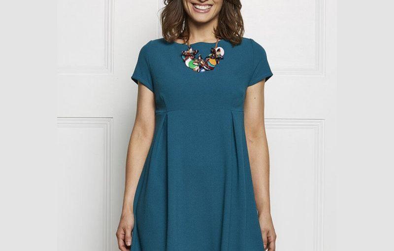 ανοιξιατικο φορεμα με κουμπια πισω , δωρεαν πατρον