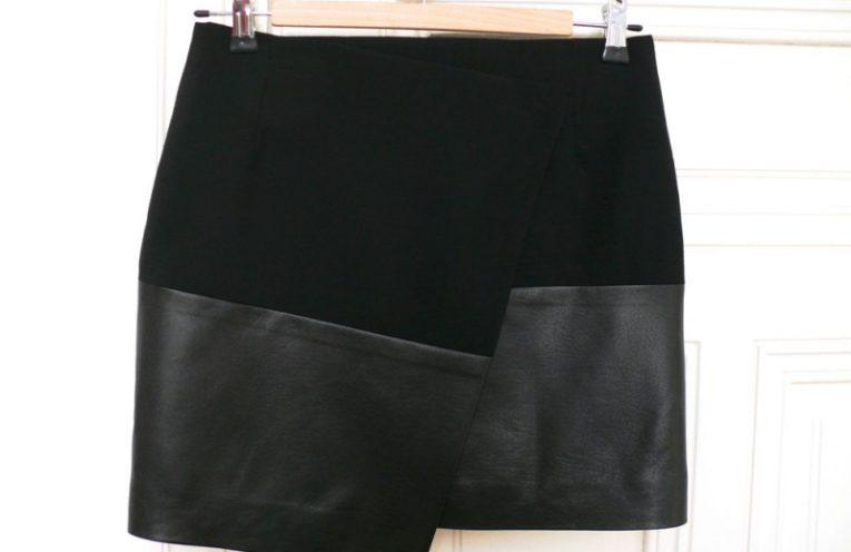ασυμμετρη wrap φουστα με πατρον για να την ραψετε μονες σας