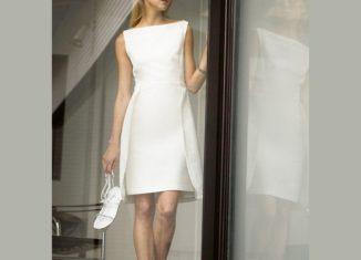 κομψο ανοιξιατικο wings dress πατρον για ενα απλο, φινο, φορεμα