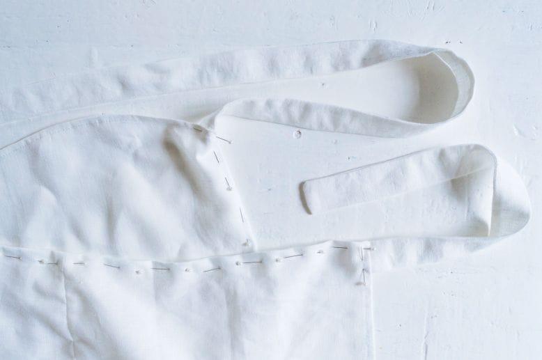 κρουαζε λινη φουστα, ραψτε μια λινη καλοκαιρινη φουστα μονες σας